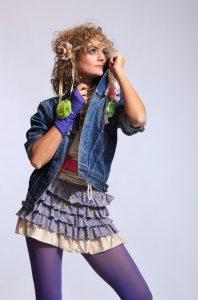 klassisk 80er outfit