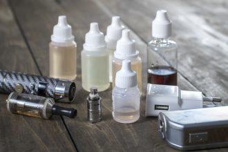 Forskellige typer e-juice til elektiske cigaretter