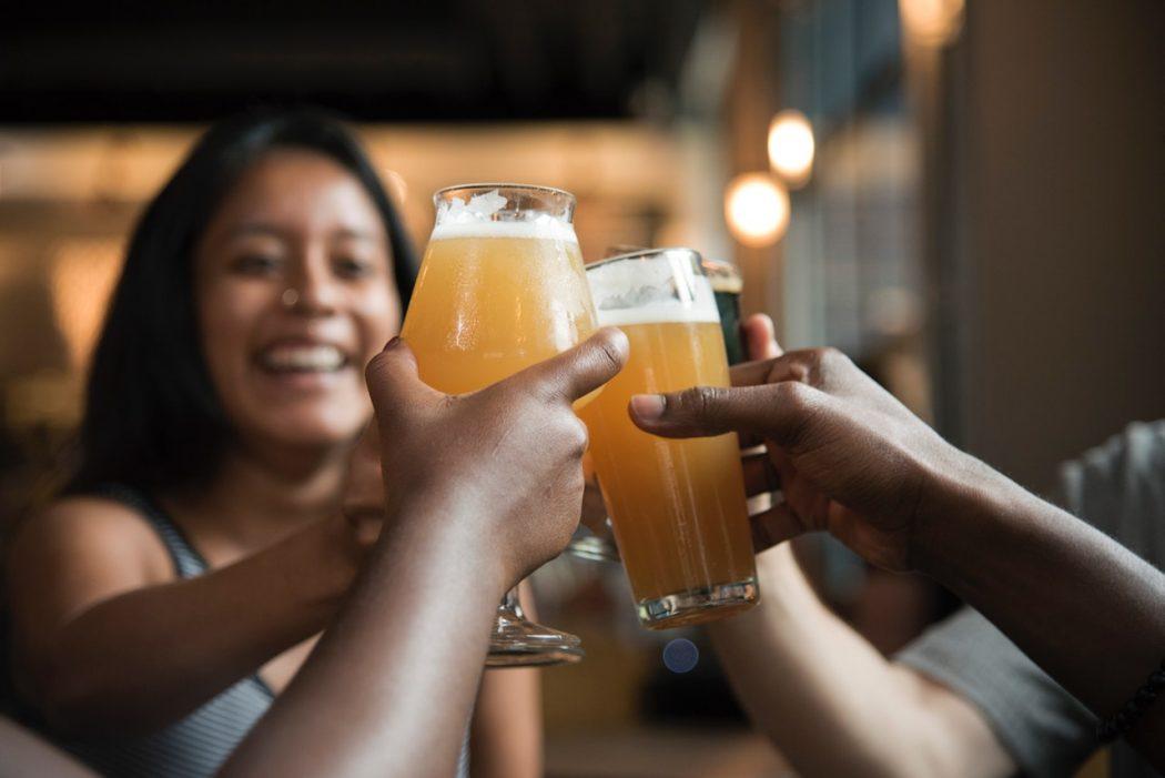 Polterarbend med øl