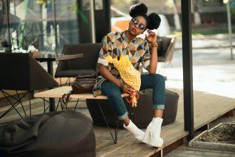 Kvinde med stil